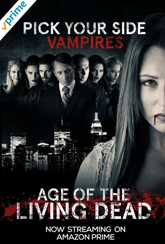 AGE OF THE LIVING DEAD starring Nicola Posener now available on Amazon Prime video.