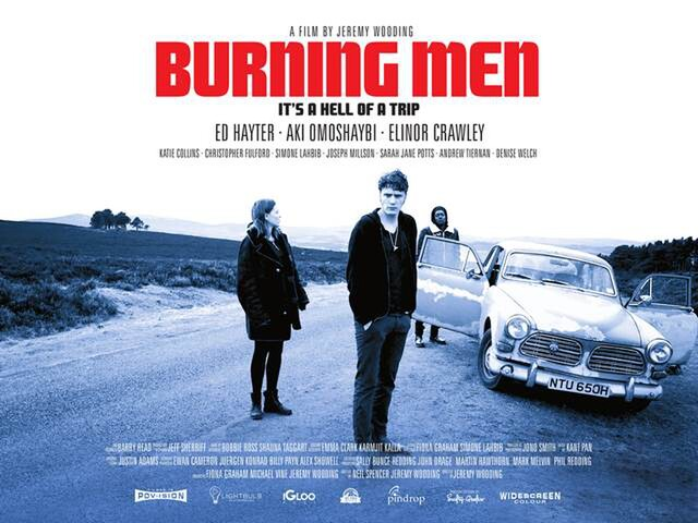 BURNING MEN is one of the UK films being released in Cinemas March 2019.