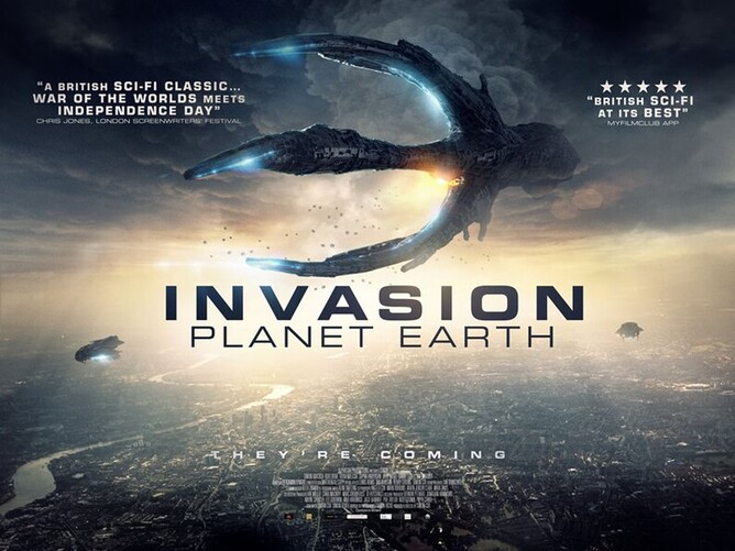 INVASION PLANET EARTH is in UK Cinemas from 5th December, Digital Download from 16th December & DVD from 30th December 2019.