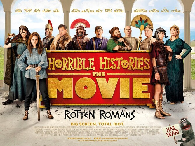 HORRIBLE HISTORIES THE MOVIE - ROTTEN ROMANS  - July 2019 films