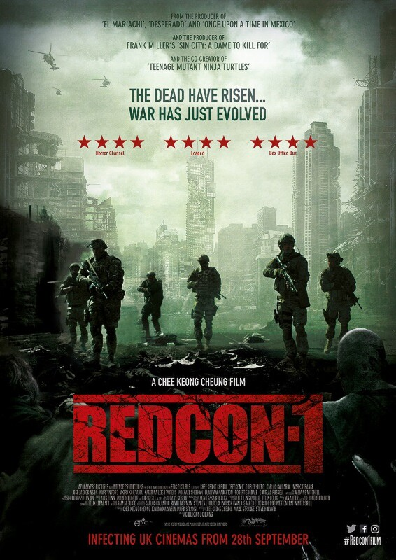Chee Keong Cheung's Zombie Action Movie REDCON-1