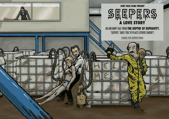 SEEPERS A LOVE STORY bRITISH HORROR MOVIE COMING SOON