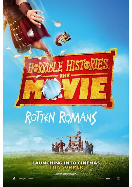 HORRIBLE HISTORIES THE MOVIE - ROTTEN ROMANS film poster