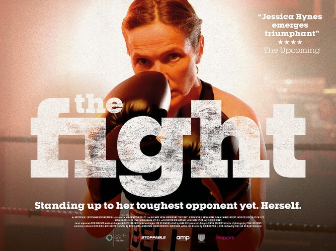 THE FIGHT  -  Jessica Hynes - Womans Boxing film
