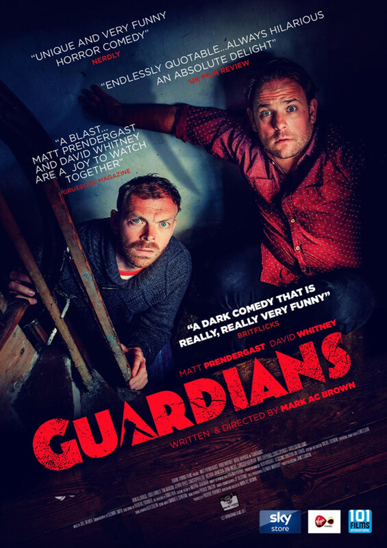 "BritFlicks Reviews Mark A.C. Brown's ""Funny, Exciting & Outrageous"" Debut Feature GUARDIANS."