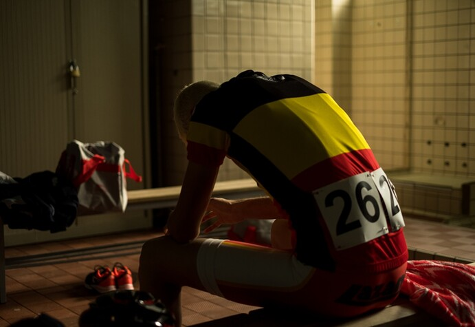 Kenneth Mercken's THE RACER (Coureur) starring Niels Willaerts