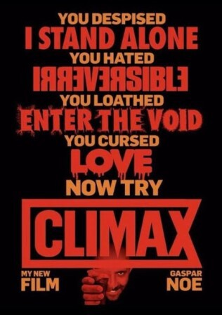 CLIMAX directed by Gaspar Noe