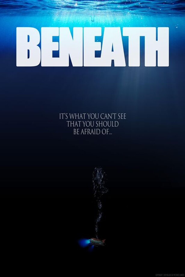 BENEATH, scifi, thriller, Gene Fallaize, Lydia Hearst, In Production 2019