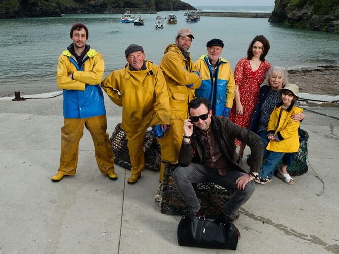FISHERMAN'S FRIENDS is a comedy drama that may become the ultimate British feel-good movie