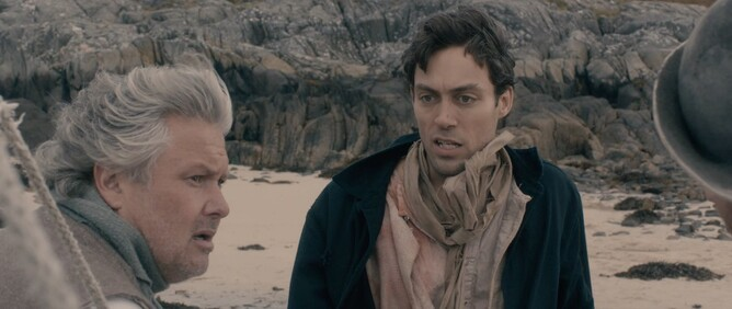 Conleth Hill & Alex Hassell in THE ISLE