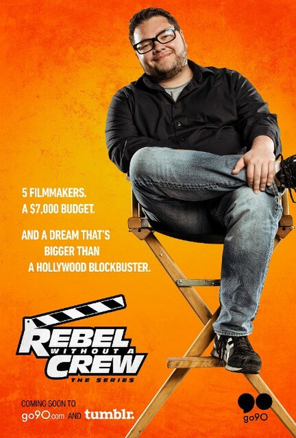 Rebel without A Crew, Alejandro Montoya Marin, MONDAY, Jamie H. Jung, Kenneth McGlothin, poster