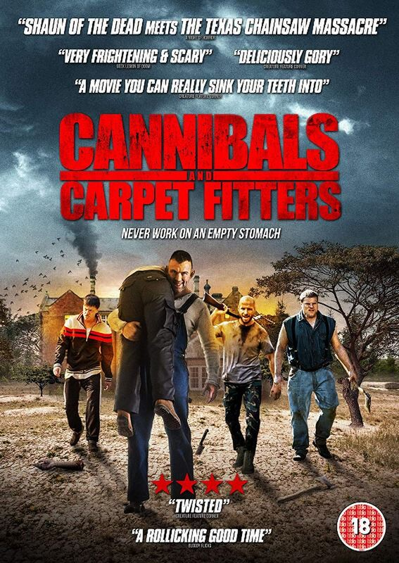 CANNIBALS & CARPET FITTERS - British zombie horror movie 2019