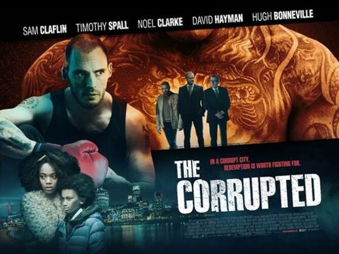 The corrupted film poster 2019