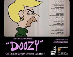 Richard Squires' DOOZY To Go On UK Theatrical Tour  23 April - 10 MAY 2019.