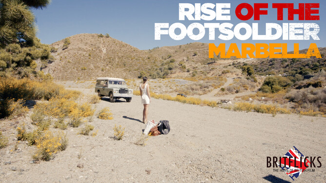Emily Wyatt i RISE OF THE FOOTSOLDIER 4 MARBELLA