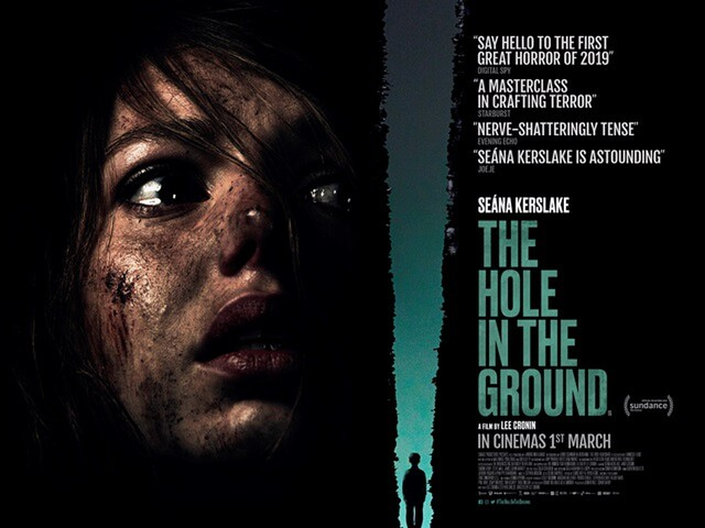 The Hole In The Ground movie poster - Irish Horror 2019