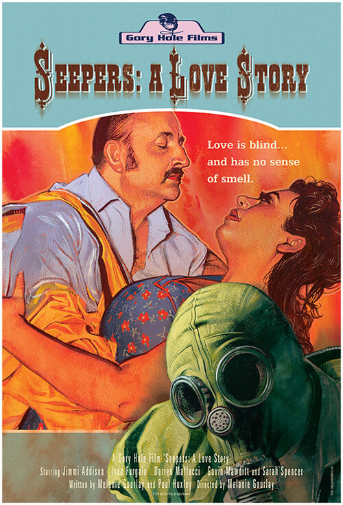 SEEPERS A Love Story, film poster, horror movie, graham Humphreys