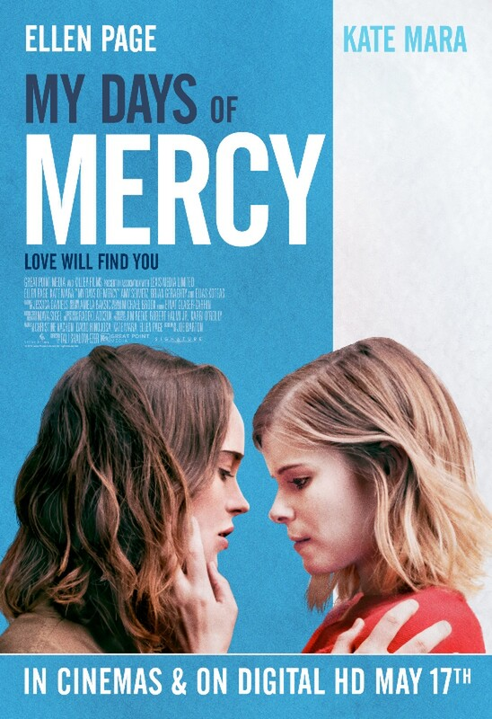 MY DAYS OF MERCY - Ellene Page & Kate Mara - May 2019