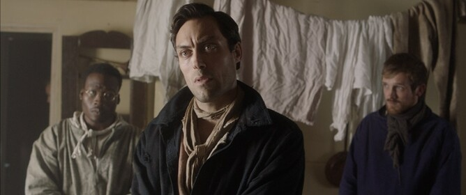 Alex Hassell in THE ISLE