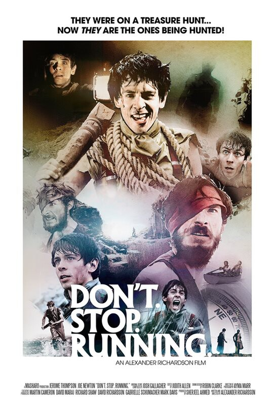 DON'T. STOP. RUNNING. Film Poster