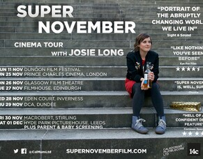 Trailer Drops For Douglas King's BIFA Discovery Award Nominated SUPER NOVEMBER