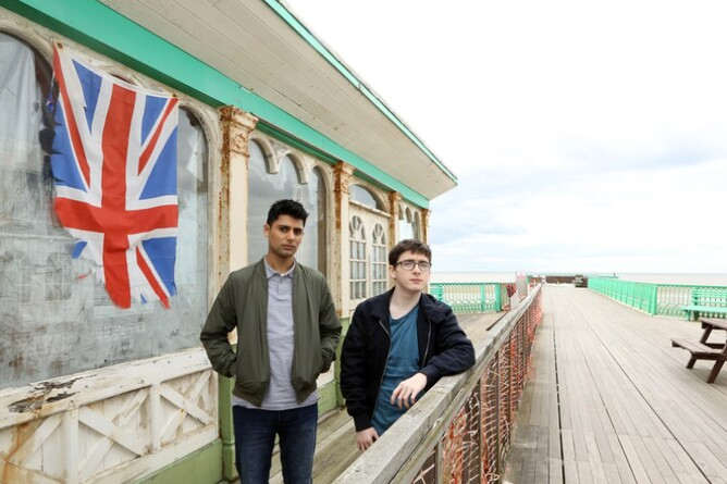 EATEN BY LIONS starring Antonio Aakeel & Jack Carroll film review