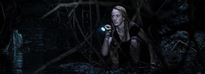 CRAWL - Kaya Scodelario - Horror film review