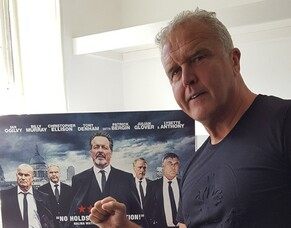 Britflicks Talks With TONY DENHAM - The British Gangster Film Icon Who Taught James Bond How To Fight!