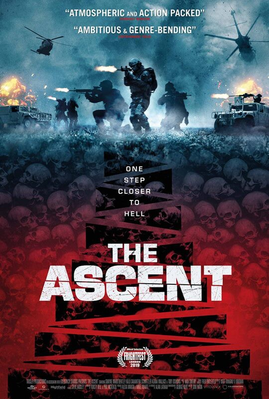 THE ASCENT (Stairs) Tom Paton's Action SciFi has new name, poster and trailer