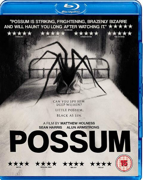 Matt Holness, Possum, Horror, British filM, latest releases, trailer, Alun Armstrong, Sean garris,