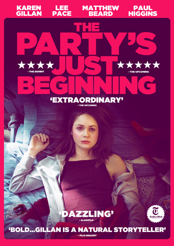 Trailer Drops For Karen Gillan's Highly Anticipated debut Feature THE PARTY'S JUST BEGINNING