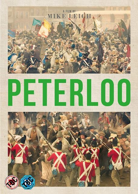 Peterloo on DVD 11th March 2019