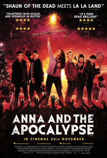 ANNA AND THE APOCALYPSE film review and trailer