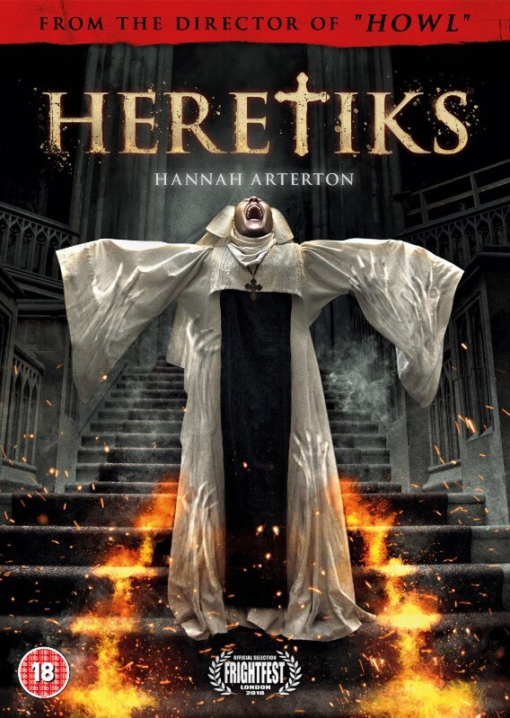 Exclusive behind the scenes of Paul Hyett's horror Heretiks (aka The Convent)
