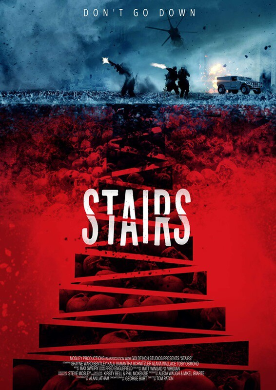 STAIRS film poster 2019 - Tom Paton