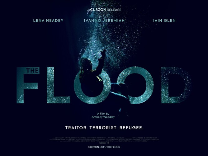 THE FLOOD Film Poster - Lena Headey, Iain Glen, Ivanno Jeremiah,