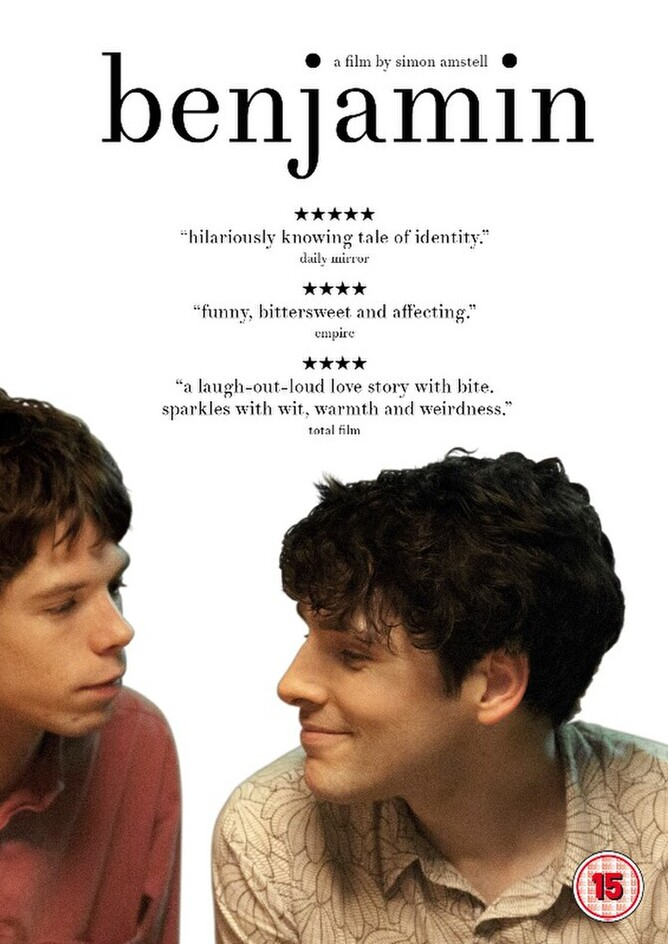 BENJAMIN directed by Simon Amstell and starring Colin Morgan