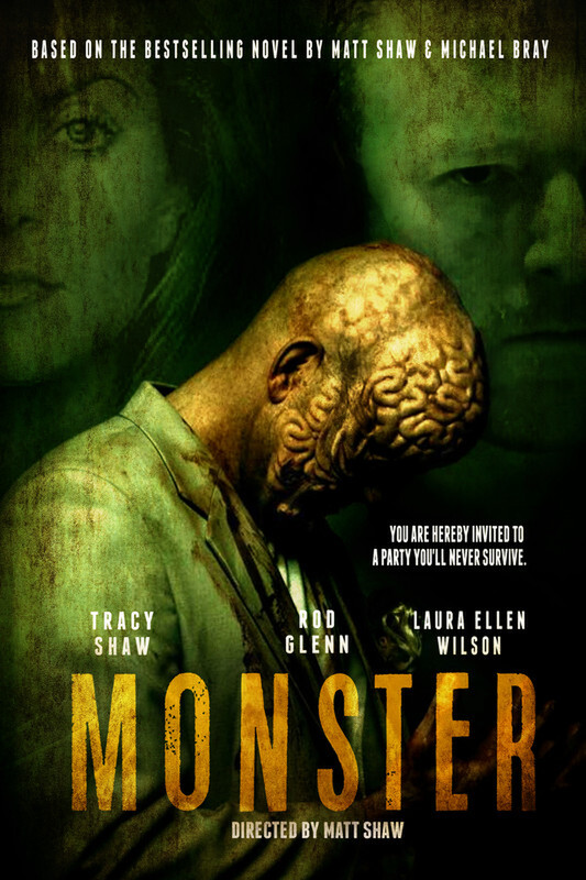 MONSTER film poster - Matt Shaw